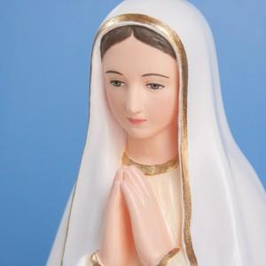 海の星の聖母像【35cm】室内用カラー仕上げ