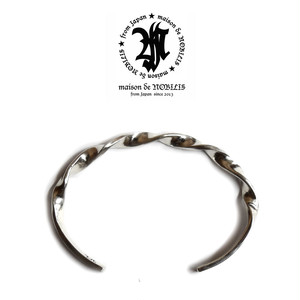 【送料無料】Twist Bangle Producted by NOBILIS【品番 15A2015】