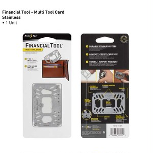 NITE IZE - FINANCIAL TOOL® MULTI TOOL CARD (Silver)