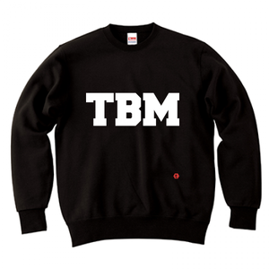 TSUBOMIN / TBM LOGO CREWNECK SWEAT BLACK