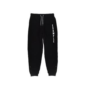 SIDE SNAP NYLON PANTS / BLACK