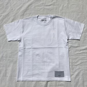 08sircus / Woven labels logo tee / white