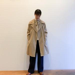 C60116 Stretch twill Hepburn Coat