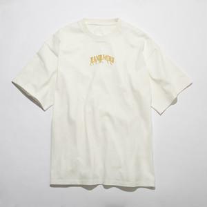 『DANPACHI』Original Embroidery T-shirt(WHITE)
