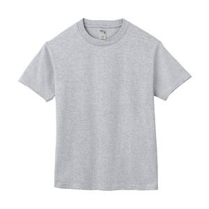 クルーネック Tシャツ(半袖) グレー