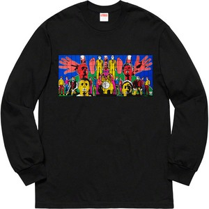 Supreme x Gilbert & George DEATH AFTER LIFE L/S Tee