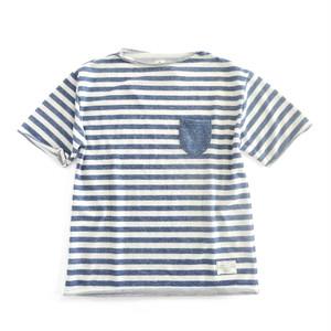 QUASH デニムライクスウェット 半袖Tシャツ