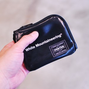 White Mountaineering WM x PORTER WALLET