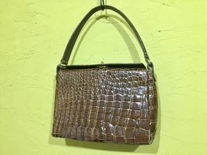 JRA クロコダイル ハンドバッグ ワニ皮 オールド ビンテージ アンティーク