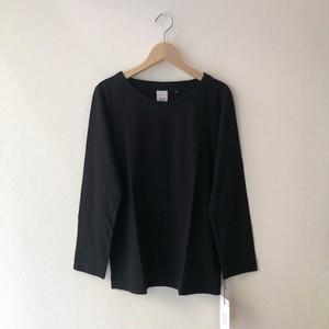atelier naruse コットン ~standard~ カットソー(長袖)black 38size