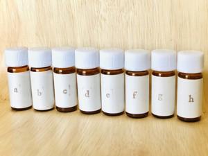嗅覚反応分析 1ヶ月3回コース