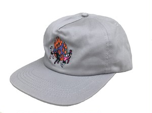 DOOMSAYERS WORLD ON FIRE 5 PANEL UNSTRUCTURED HAT
