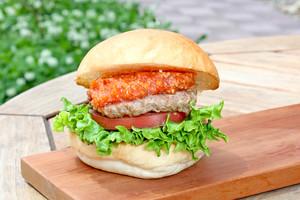 【ハンバーガー】ふらのクラシックバーガーセット
