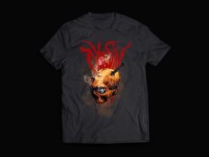 TYOSiN skull logo T-shirt