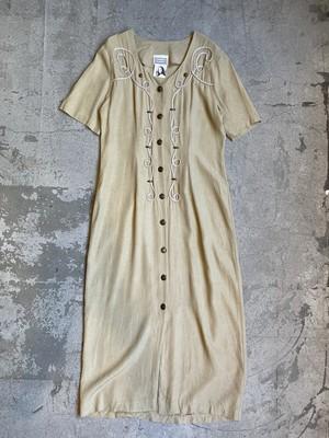 """EMBLEM"" vintage embroidery dress"