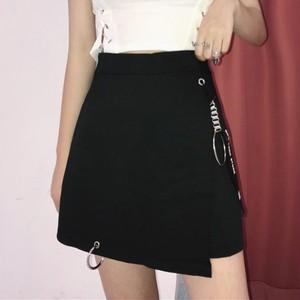 【ボトムス】ファッション個性派 アルファベットスリットスカート43754402