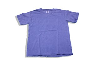 COMFORT COLORS  GARMENT DYED TEE BLUE JEAN