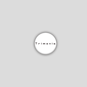 [Tin Badge] Trimonia / ロゴ缶バッジ (57mm)