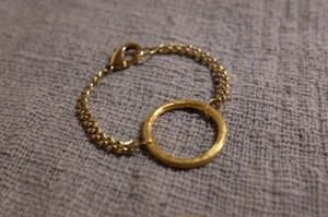 Chain Braceret with Circle