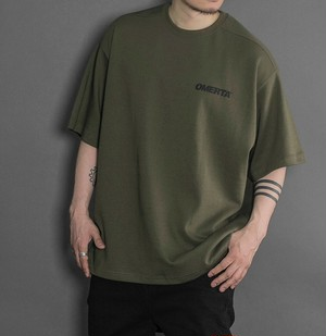 【OMERTA】Over Fit Tee / Military Green