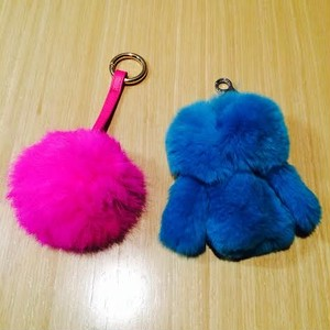 selected for TOKYO ICON fur coat key charm