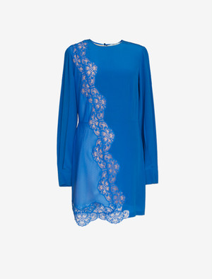 STELLA McCARTNEY BLUE SILK DRESS