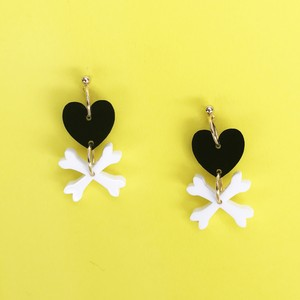 HEART BONES-black / c-hb001bk