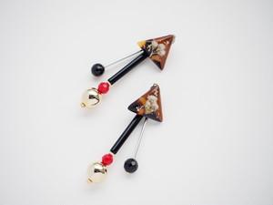 【8PC-17】objet sayoko × CHIYO押し花コラボアクセサリー
