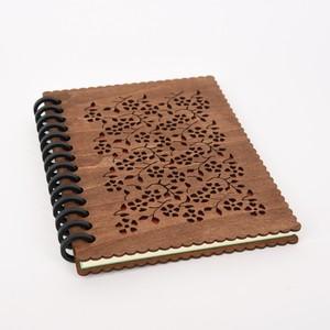 木のノートブックJ 草花