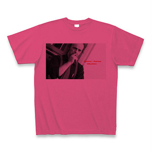 Journey×Journey 26Lettes T-shirts from Argentina/pink