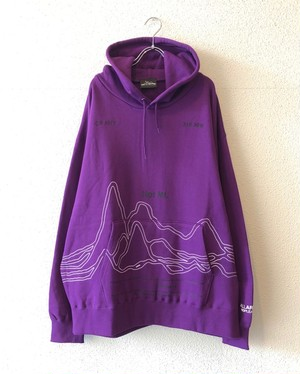 【19053】PULLOVER BIG HOODIE Vol.1 (PURPLE)
