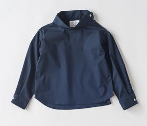 【EAST END HIGHLANDERS】  ハイネックシャツ(ネイビー)