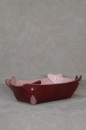 PHD LEATHER TRAY