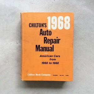 CHILTON'S Auto Repair Manual 1968
