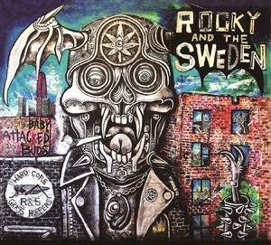 ROCKY & The SWEDEN / CITY BABY ATTACKED BY BUDS (CD/BTR-420)