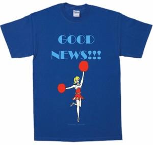「GOOD NEWS!!! T-shirt 」ロイヤルブルー