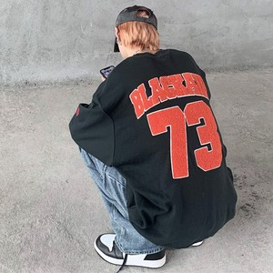 【トップス】アルファベット柄ストリート系ヒップポップダンスファッション長袖パーカー39823572