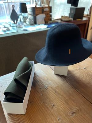 bocodeco / rabbit felt roller hat