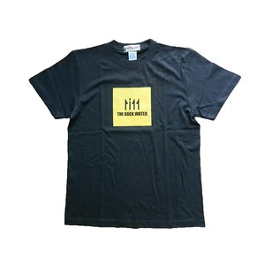 THE BACK WATER LOGO T-SHIRTS BLACK BW-712