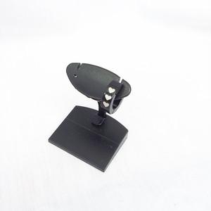 スナップリング フープ ピアス ハート 三連 黒 BLACK ブラック 1303