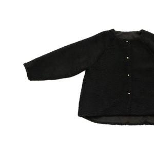 ボアジャケット*黒