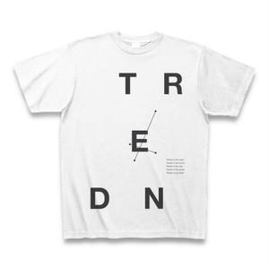 Blur - Tender タイポグラフィTシャツB(バラバラ・黒)