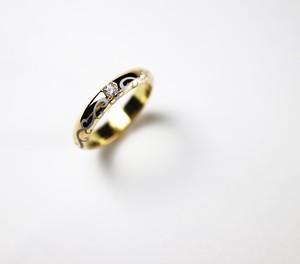 結婚指輪【唐草 Ring】 (カスタムジュエリー)