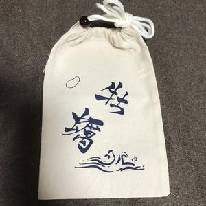 牡蠣巾着 design by 福島有