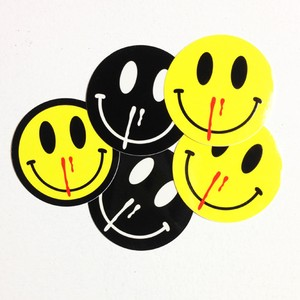 HAPPINESS OVERDOSE VINYL STICKER VARIETY PACK5pc.