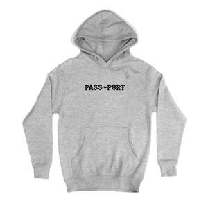PASS PORT(パスポート) / BARBS HOOD -HEATHER GREY-