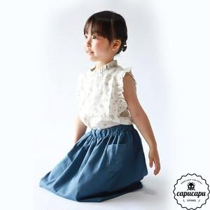 «即納»«pourenfant» laura blouse 2colors ローラブラウス