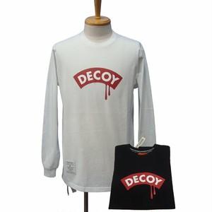(BLKボディーのみとなります) DECOY&CO.Tears ロングスリーブ Tシャツ