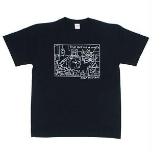 """KEEP THE FLAME TOUR"" T-shirt Black"