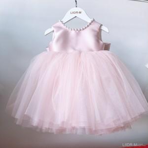 ピンク子供ドレス キッズドレス ベビードレス  女の子ドレス キッズフォーマルドレス ワンピース セレモニードレス 七五三 80cm-160cm 8496
